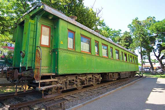 Stalin's railway carriage