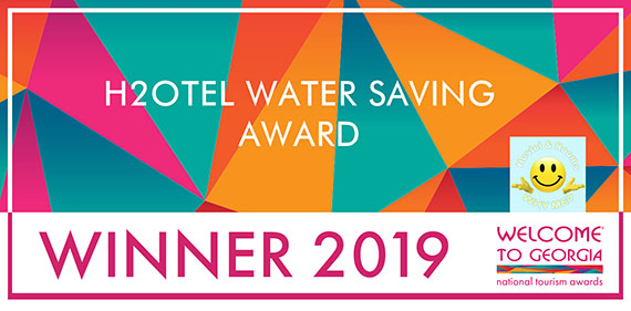 Eco-friendly Why Me Tbilisi Winner H2Otel Water Saving Award